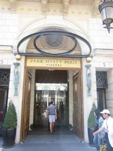 Park Hyatt Vendome Paris