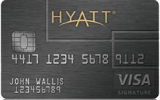 Get 1 free night with the Hyatt Visa