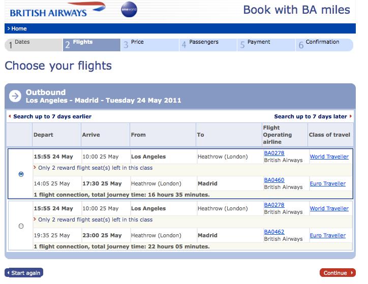 Flight information | Flight News & Status | British Airways