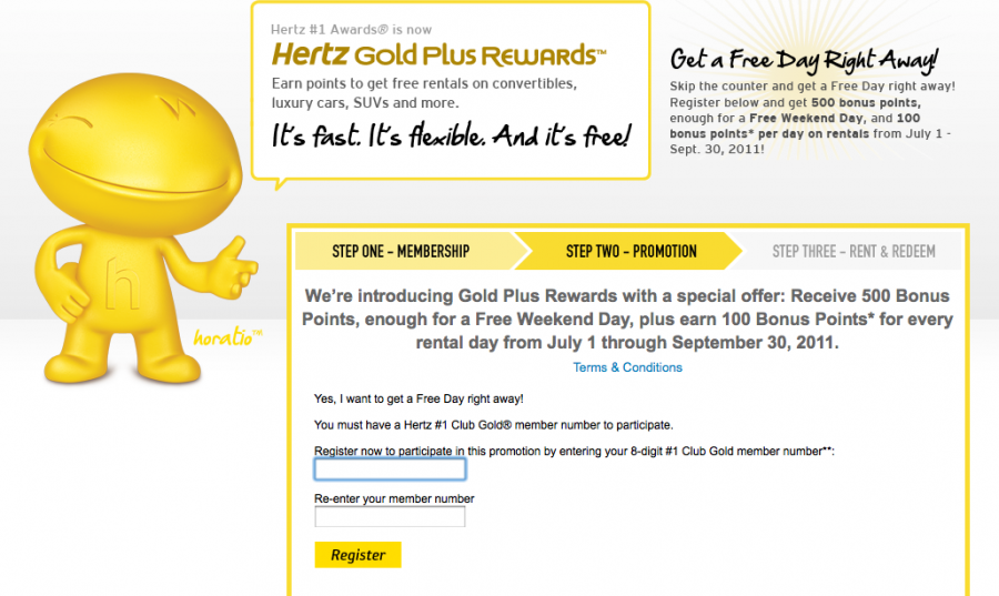 Hertz discount coupon