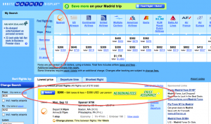 Cheap Flights to Madrid and Barcelona- from $356 Total Roundtrip