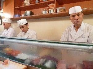 Tokyo Day Three Part Two – Sushi at 6:30am, Tempura and a Night Out in Shinjuku