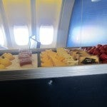 The fruit and cheese cart--how could I resist?