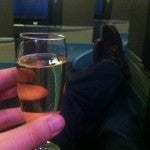 Well, it's not aaaaall bad in the old business class.