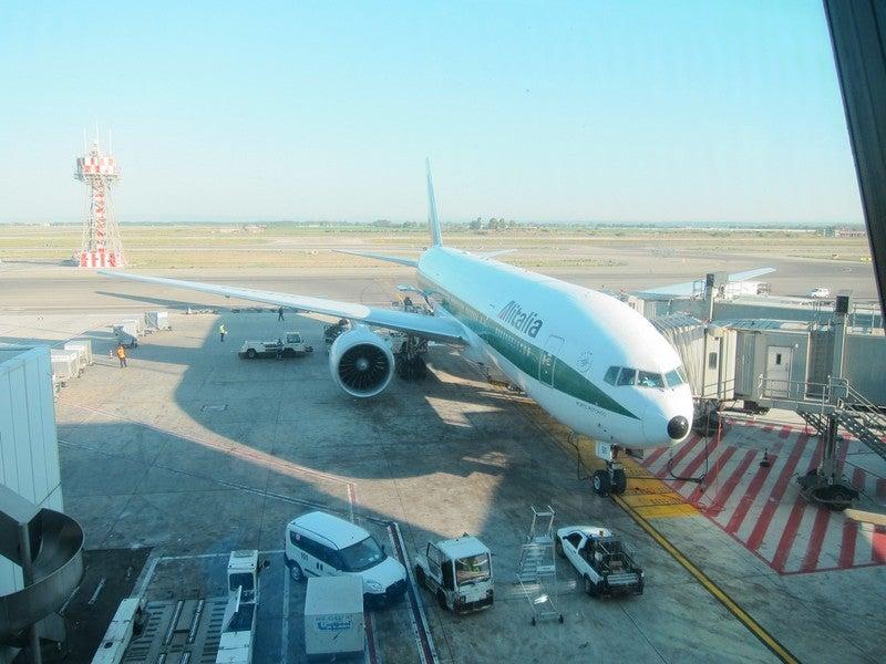 Our 777 Rome to Miami