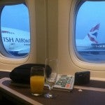 Didn't expect to watch the sun rise while on JFK's runway staring at a British Airways 747!