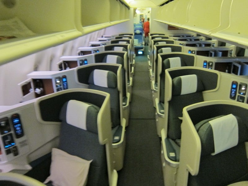 Flight Review: Cathay Pacific Business Class Old Versus ...