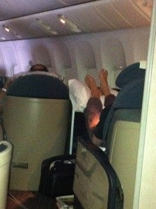 Is This Appropriate First Class Behavior?