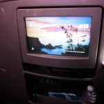 The personal television monitor in my seat. 12.1 inches...and tons of movies, tv shows and New Zealand tourism videos.