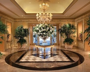 The Four Seasons Los Angeles at Beverly Hills.