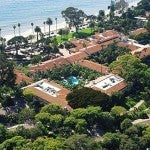 An aerial view of the hotel (from the hotel's website).