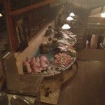 The gorgeous (and pungent!) array of fresh fish and seafood to choose from for dinner at Park Fora.