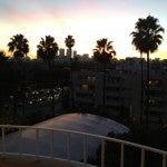 View from my balcony toward Century City.