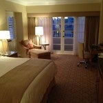 My king-size corner room at the Four Seasons Los Angeles at Beverly Hills.