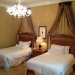 The second bedroom of our suite had two twin-size beds in it.