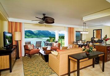 The Living And Dining Room Of A Kauai Lagoons Villa