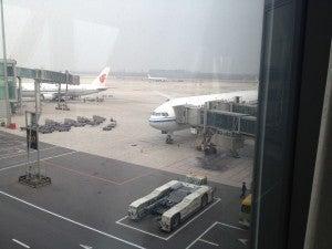 The plane awaits...