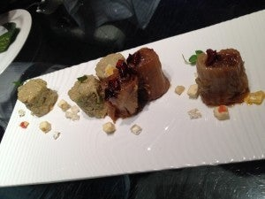 Another appetizer from Da Dong Duck--I can't remember what it was, but it was delicious!