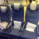 New British Airways Coach seats.