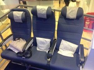 New British Airways Coach seats.