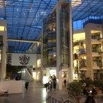 BA Headquarters...very cool. I feel like James Bond entering MI:6.