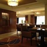 The Executive Lounge was really nice--I had breakfast there in the mornings and canapes and cocktail at happy hour.