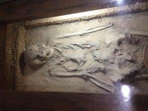 6,000-year-old human remains at Banpo.