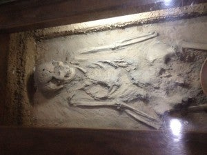 6,000-year-old human remains at Banpo.