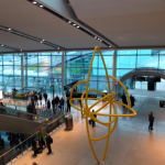 The new terminal at Dublin's airport where Delta flies out of.
