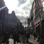 A gorgeous weekend to spend in Dublin walking along Grafton Street.