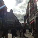 A gorgeous weekend to spend in Dublin walking along Grafton Street.