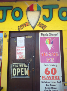 Jo Jo's Shaved Ice: a Kauai landmark and apparently a TPG readers' favorite!