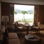 The living room of my Prince Junior Suite. Look at that view!