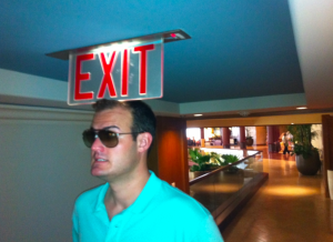 Hallways were inexplicably low-ceilinged. Watch your head!
