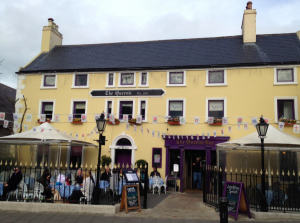 The Queen's Pub in Dalkey.