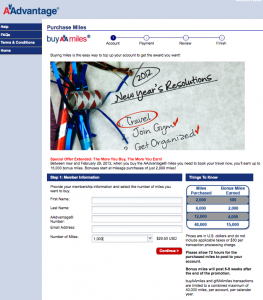 Current American, Delta and US Airways Mileage Purchase Promotion Rundown