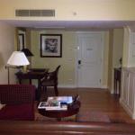 The living room in my Samuel Beckett Suite.