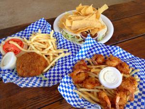 Shrimp Station in Waimea. Loved the shrimp burger.