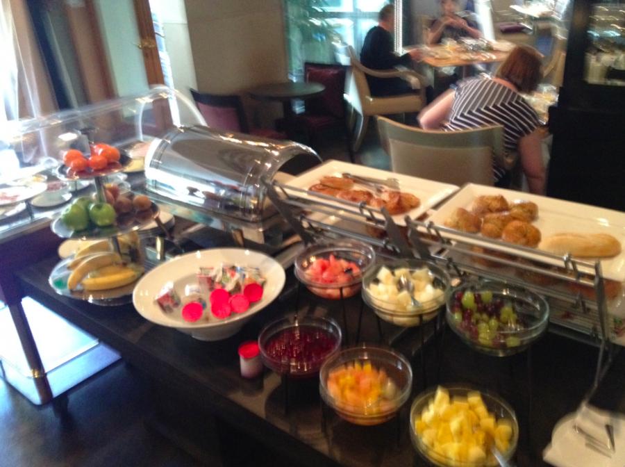 Andaz Wall Street Room Service Breakfast