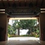 The lobby of the Grand Hyatt Kauai
