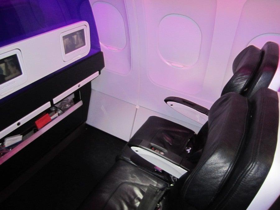 Flight Review Virgin America Main Cabin Select Is It