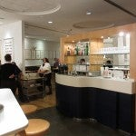 Hanging in the SAS Club Lounge at Newark, which Singapore Airlines shares with SAS.