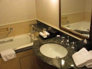 My bathroom sink.