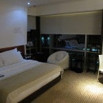 Another shot of my suite's bedroom, you can see little chair for working in the corner.