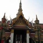 Hor Phra Gandhararat Temple at the Grand Palace