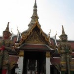 Hor Phra Gandhararat Temple at the Grand Palace