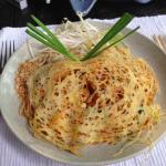Pad Thai at Mango Tree--never had it like this before!