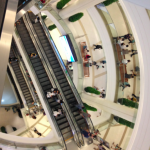 The Paragon shopping center. It's huge!