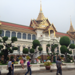 The Grand Palace's Throne Hall is a crazy, elaborate mix of architectural styles.