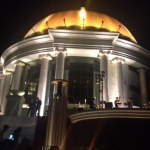 A great band was playing the night we ate at Sirocco.